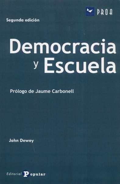 Democracia y escuela