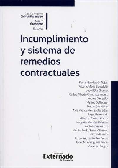 Incumplimiento y sistema de remedios contractuales