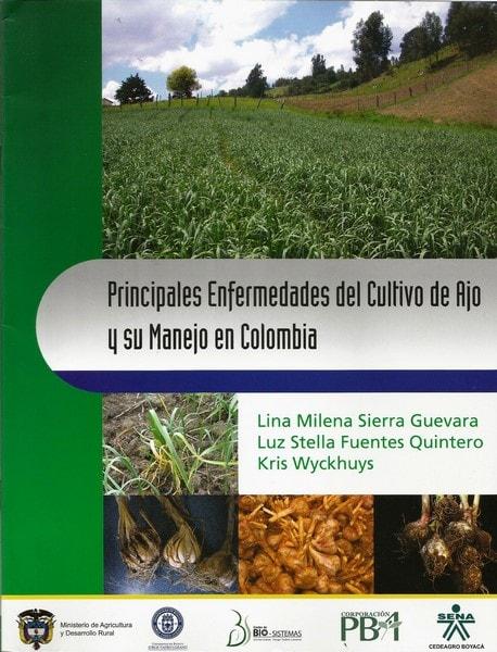 Principales enfermedades del cultivo de ajo y su manejo en colombia  - Lina Milena Sierra Guevara - 9789587250756