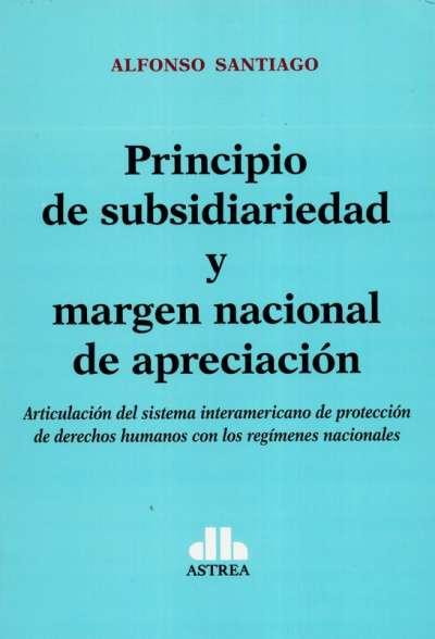 Principio de subsidiariedad y margen nacional de apreciación