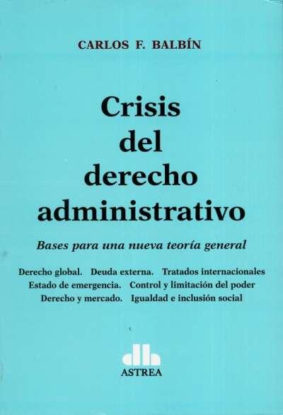 Crisis del derecho administrativo