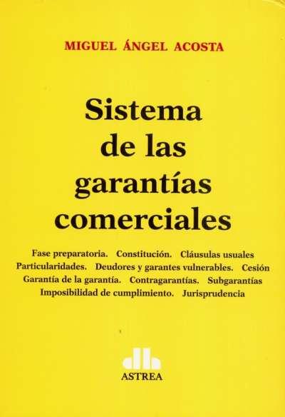 Sistema de las garantías comerciales